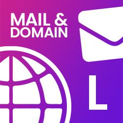 Mail & Domain L - (19,90€ / Monat)