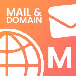 Mail & Domain M - (9,90€ / Monat)