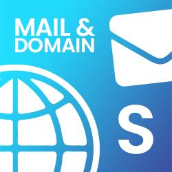 Mail & Domain S (3,90€ / Monat)
